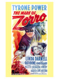 The Mark of Zorro, 1940 Print