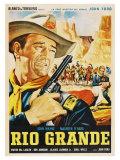 Rio Grande, Mexican Movie Poster, 1950 Plakater