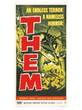 Them!, 1954 Plakat
