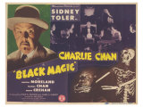 Charlie Chan in Black Magic, 1944 Posters