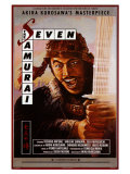 Seven Samurai, 1954 Plakater