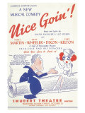 Nice Goin' Poster