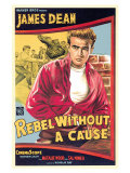 """Ung rebell, """"Rebel Without a Cause"""", 1955 Planscher"""