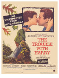 The Trouble With Harry, 1955 Posters