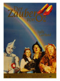 The Wizard of Oz, German Movie Poster, 1939 高品質プリント