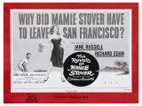 The Revolt of Mamie Stover, UK Movie Poster, 1956 Poster