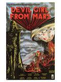 Devil Girl From Mars, 1955 Poster