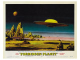 Forbidden Planet, 1956 Poster