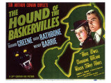 The Hound of The Baskervilles, 1939 Poster