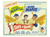 Safe At Home, 1962 Pósters