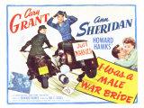 I Was a Male War Bride, 1949 Art