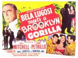Bela Lugosi Meets a Brooklyn Gorilla, 1952 Kunstdrucke