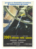 2001: A Space Odyssey, Italian Movie Poster, 1968 Poster