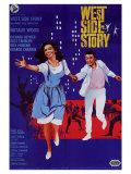 West Side Story, Italian Movie Poster, 1961 Art