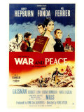 War and Peace, 1956 Posters