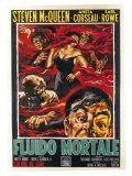 The Blob, Italian Movie Poster, 1958 Plakater