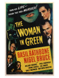 The Woman in Green, 1945 Poster