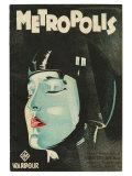 Metropolis, UK Movie Poster, 1926 Art