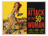 Attack of the 50 Foot Woman, 1958 Pôsteres