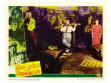 Bud Abbott Lou Costello Meet Frankenstein, 1948 Print