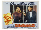 The Girl Can't Help It, 1956 Poster