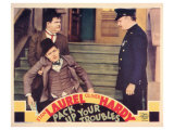 Pack Up Your Troubles, 1932 ポスター