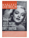 Angel, 1937 Poster