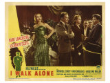I Walk Alone, 1947 Poster