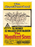The Magnificent Seven, 1960 Plakater