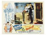 Girls! Girls! Girls!, 1962 ポスター