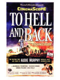To Hell and Back, 1955 Posters