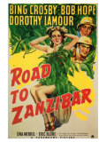 Road to Zanzibar, 1941 Posters