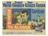 North to Alaska, 1960 Poster