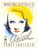 Angel, Dutch Movie Poster, 1937 Kunstdruck