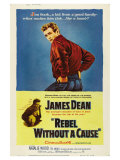 """Ung rebell, """"Rebel Without a Cause"""", 1955 Posters"""