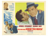 The Man Who Knew Too Much, 1956 Poster
