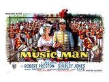 The Music Man, Belgian Movie Poster, 1962 Plakat