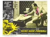 Secret Agent Fireball, 1966 Kunstdruck