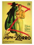 The Mark of Zorro, 1940 Poster