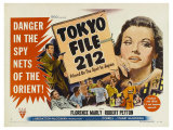 Tokyo File 212, UK Movie Poster, 1951 Konst