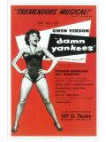 Damn Yankees Posters