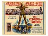 The Colossus of Rhodes, 1961 Planscher