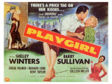 Playgirl, 1954 Poster