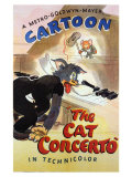 The Cat Concerto, 1947 アート