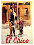 The Kid, Spanish Movie Poster, 1921 Kunstdrucke