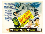 Bud Abbott Lou Costello Meet Frankenstein, 1948 Poster