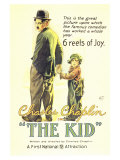 The Kid, 1921 Reproduction giclée Premium