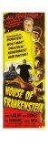 House of Frankenstein, 1944 Plakater