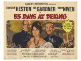 55 Days at Peking, 1963 ポスター