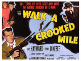 Walk a Crooked Mile, 1948 Poster